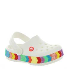 Crocs™ Crocband Chevron Beaded Clog (Girls' Infant-Toddler-Youth)