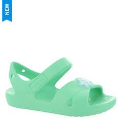 Crocs™ Classic Cross Strap Charm Sandal (Girls' Infant-Toddler)