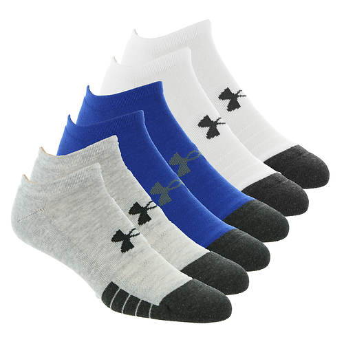 Under Armour Performance Tech No Show 6-Pack Socks