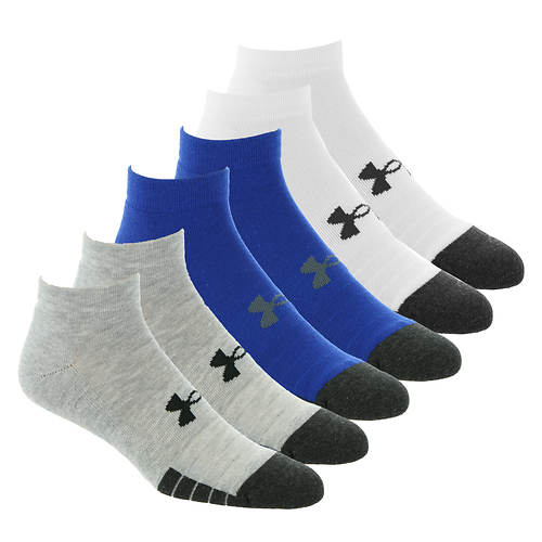 Under Armour Performance Tech Low Cut 6-Pack Socks