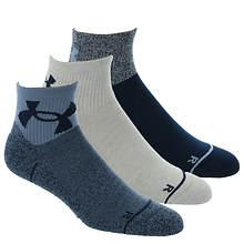 Under Armour Men's Phenom Quarter 3-Pack Socks