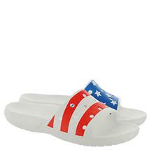 Crocs™ Classic Crocs American Flag Slide (Unisex)