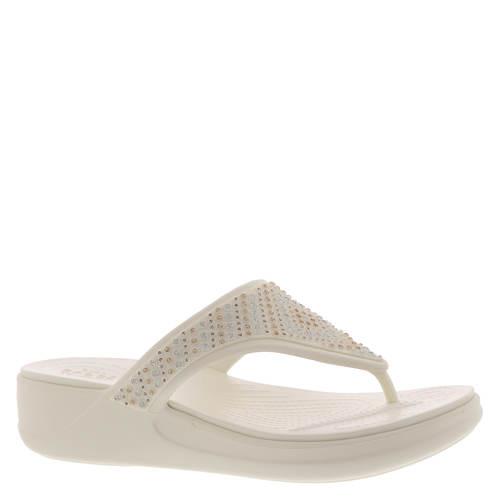 Crocs™ Monterey Shimmer Wedge Flip (Women's)