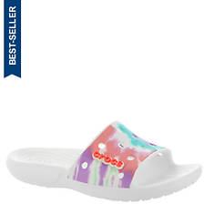 Crocs™ Classic Tie Dye Slide (Women's)