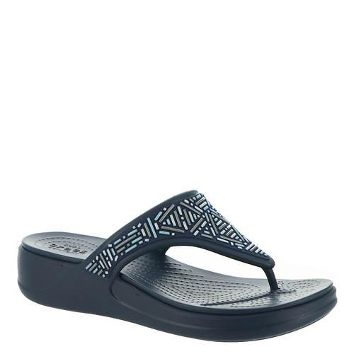 Crocs™ Monterey Beaded Wedge Flip (Women's)