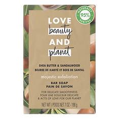 Love Beauty and Planet Shea Butter & Sandalwood Bar Soap