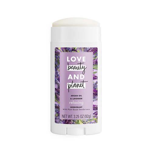 Love Beauty and Planet Argan Oil & Lavender Deodorant Stick