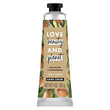 Love Beauty and Planet Shea Butter & Sandalwood Hand Cream