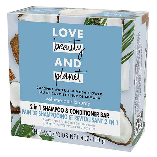 Love Beauty and Planet Coconut Water & Mimosa Flower 2-in-1 Shampoo and Conditioner Bar
