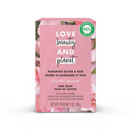 Love Beauty and Planet Murumuru Butter & Rose Soap Bar