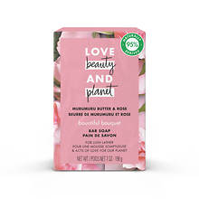 Love Beauty and Planet Murumuru Butter & Rose Soap Bar