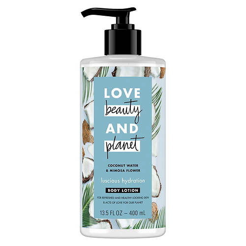 Love Beauty and Planet Coconut Water & Mimosa Flower Hand & Body Lotion