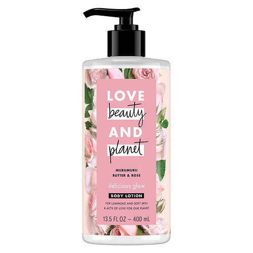 Love Beauty and Planet Murumuru Butter & Rose Hand & Body Lotion