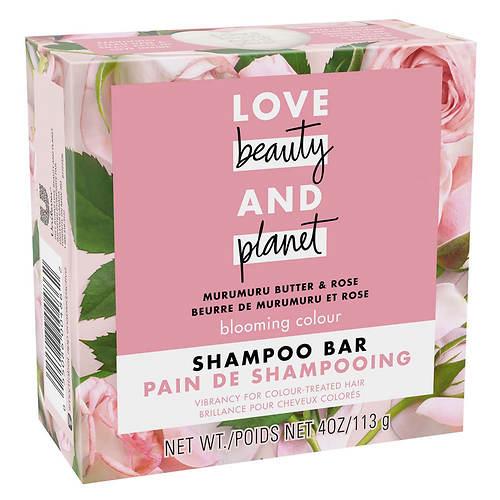 Love Beauty and Planet Murumuru Butter & Rose Shampoo Bar