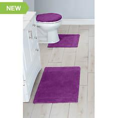 Ultimate Luxury 3pc Bath Rug Set