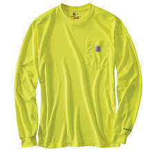 Carhartt Men's Force Color Enhanced Long Sleeve T-Shirt