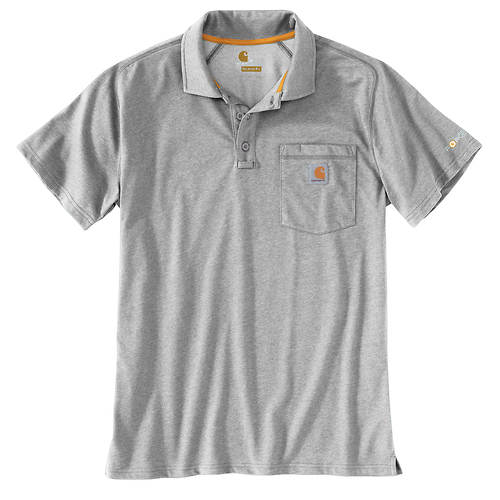 Carhartt Men's Force Relaxed Fit Midweight Short Sleeve Pocket Polo