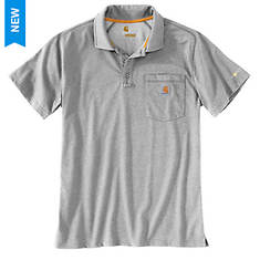 Carhartt Men's Force Relaxed Fit Midweight SS Pocket Polo