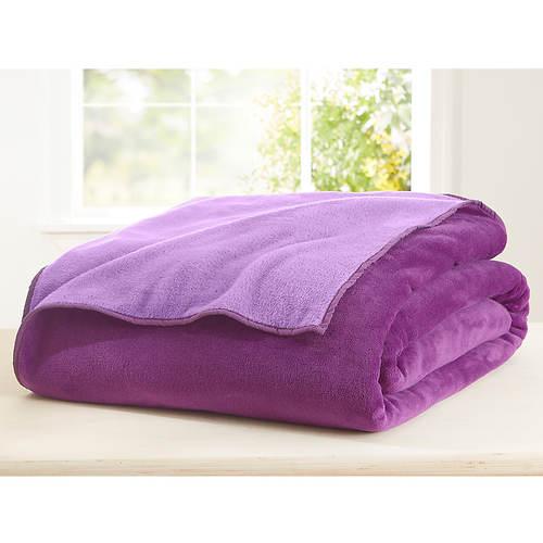Reversible Microplush Blanket