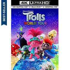 Trolls World Tour (4K Ultra-HD)