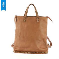 Free People Ellie Leather Studded Tote Bag