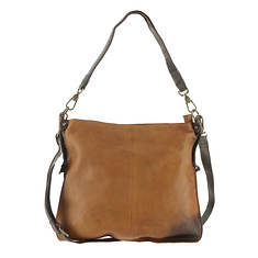 Free People Saratoga Leather Crossbody Bag