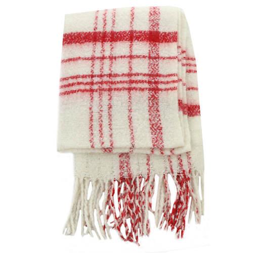 Free People Women's Prep Brushed Plaid Blanket Scarf