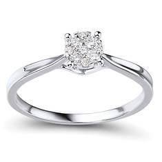 10K 1/6cttw Dia Engagment Ring