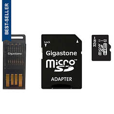 Gigastone 32GB micro SD Card 4-in-1 Kit