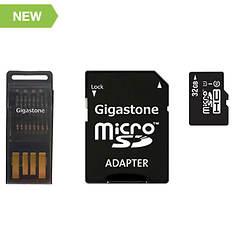 Gigastone 32GB micro SD Card 4-in-1 Kit