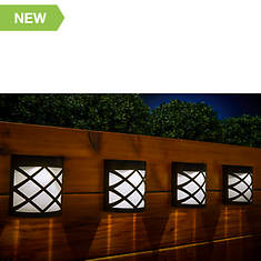 Solar Outdoor Color-Changing Wall Lights