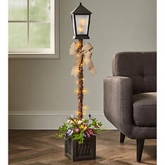 """48"""" Lighted Butterfly Topiary Lantern"""