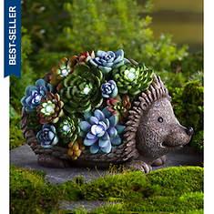 Solar Hedgehog Garden Statue