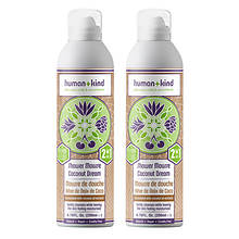 Human+Kind Shower Mousse Body Wash 2-Pack