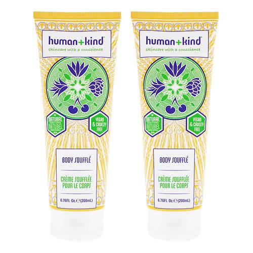 Human+Kind Body Souffle Cream - Tube