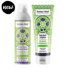 Human+Kind Shower Mousse and Body Wash Kit