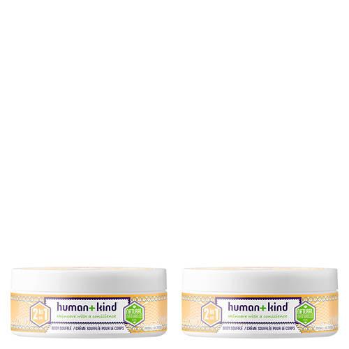 Human+Kind Moisture Body Souffle Cream - Tub