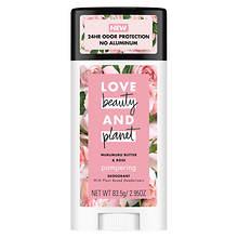 Love Beauty and Planet Murumuru Butter & Rose Deodorant Stick