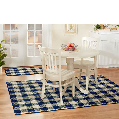 Country Living Check Rugs
