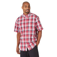 Wrangler Men's Blue Ridge Plaids Shirt