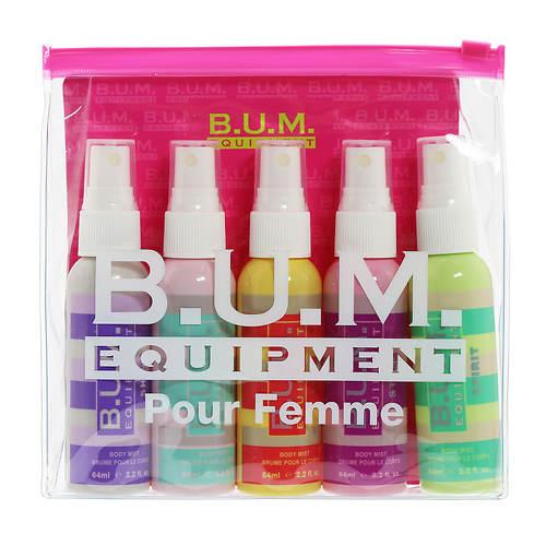 B.U.M. Equipment 5-Piece Body Mist Set