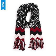 MUK LUKS Women's Traditional Chevron Scarf