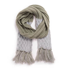 MUK LUKS Women's Traditional Fringe Scarf