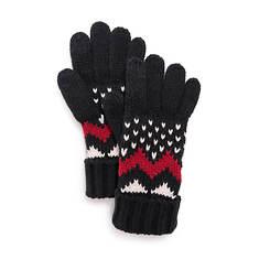 MUK LUKS Women's Chevron Glove