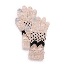 MUK LUKS Women's Chevron Glove