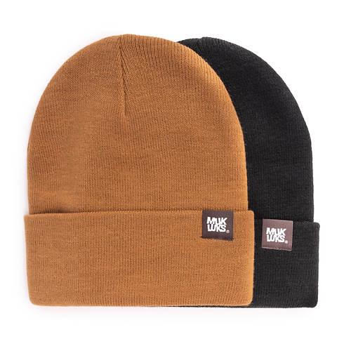 MUK LUKS 2 Pack Cuff Caps