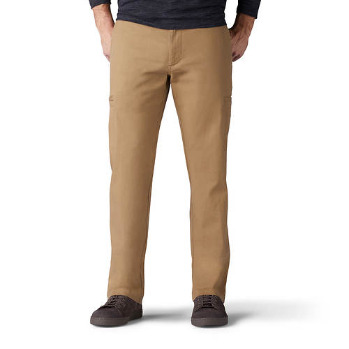 Lee Jeans Men's Extreme Comfort Straight Fit Cargo Pant