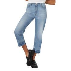 Lee Jeans Women's High Rise Straight Leg Crop