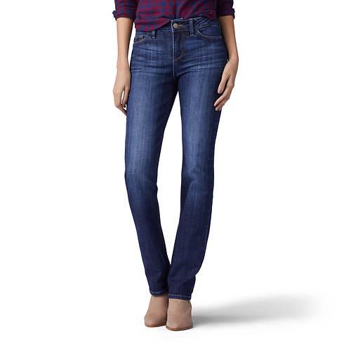 Lee Jeans Women's Secretly Shapes Straight Leg Jean