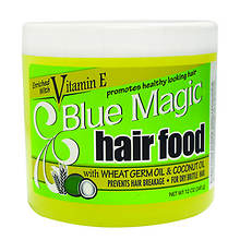 Blue Magic Hair Food With Wheat Germ Oil and Coconut Oil